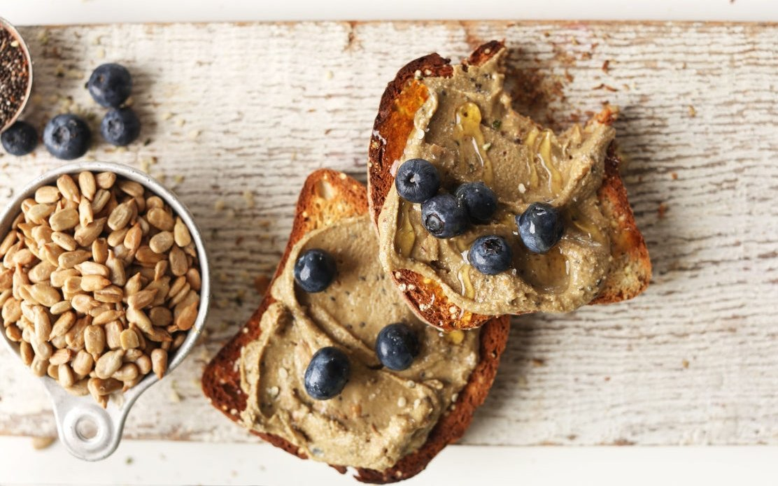 SUNFLOWER SEED BUTTER With Chia Flax Pumpkin And Hemp Sunbutter Recipe Vegan Glutenfree Recipe Spread 768x1152