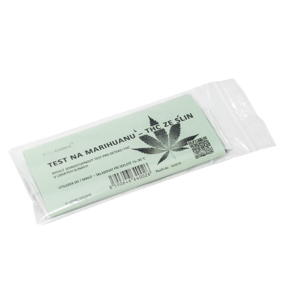 Test Na Marihuanu Thc Ze Slin